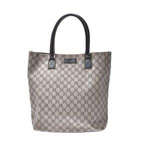 Gucci Handtas beige Textielvezel