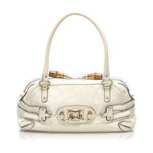 Gucci Wave Leather Shoulder Bag