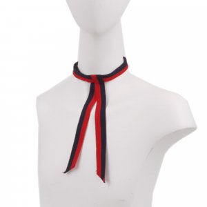 Gucci Web Grosgrain Neck Bow