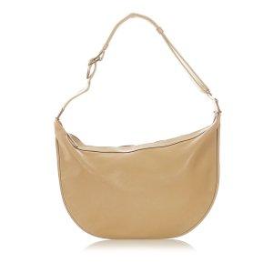 Gucci Web Leather Hobo Bag