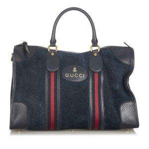 Gucci Reistas zwart Suede