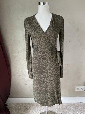 Gucci Kopertowa sukienka Wielokolorowy Wiskoza