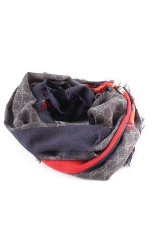 Gucci Écharpe en laine imprimé avec thème style décontracté