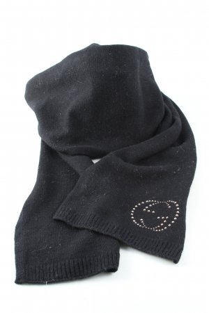 Gucci Woolen Scarf black casual look