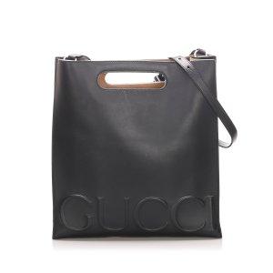 Gucci Sacoche noir cuir