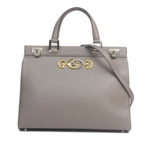 Gucci Satchel green leather