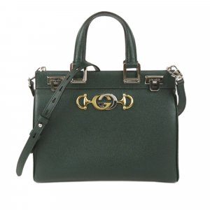 Gucci Zumi Leather Satchel