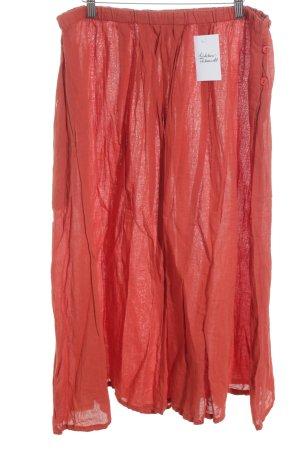 Gudrun Sjöden Falda estilo Crash rojo ladrillo tejido mezclado