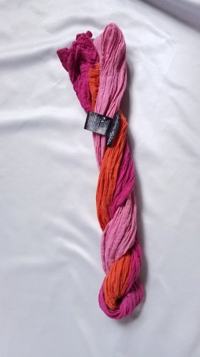 Gudrun Sjoeden Crinkle Schal, reine Baumwolle, Farbverlauf, orange-pink