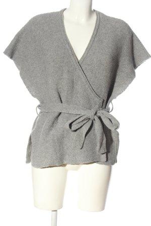 Gudrun Sjöden Short Sleeve Knitted Jacket light grey casual look
