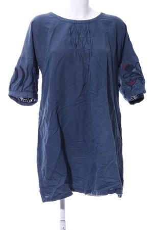 Gudrun Sjöden Shirtkleid blau Casual-Look
