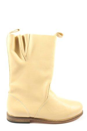 Gudrun Sjöden Wide Calf Boots natural white casual look
