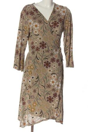 Gudrun Sjöden Robe portefeuille motif de fleur style décontracté