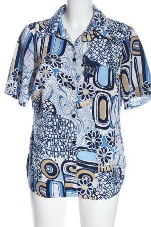 Gülthner's Rosenhof Shirt met korte mouwen volledige print casual uitstraling