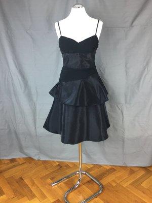 günstiges Abendkleid, Ballkleid, schwarz, Gr. 38