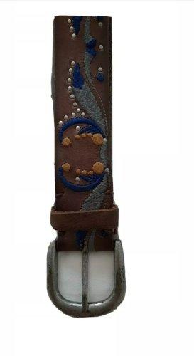 1.2.3 Paris Leather Belt dark brown