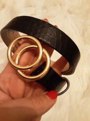 H&M Hip Belt black-gold-colored