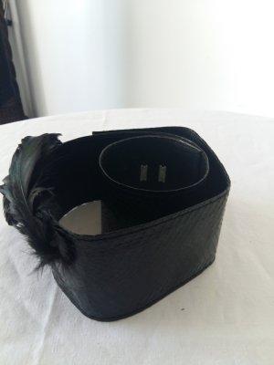 Cinturón pélvico negro Cuero