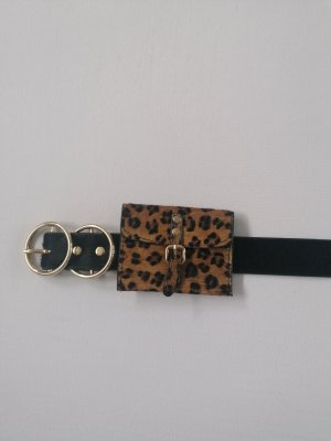 River Island Leather Belt multicolored