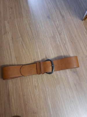 Pieces Cintura in ecopelle marrone