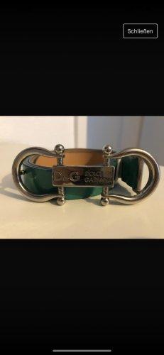 Dolce & Gabbana Cinturón de cadera verde bosque