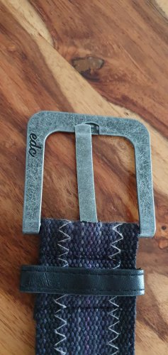 Edc Esprit Fabric Belt black-lilac mixture fibre