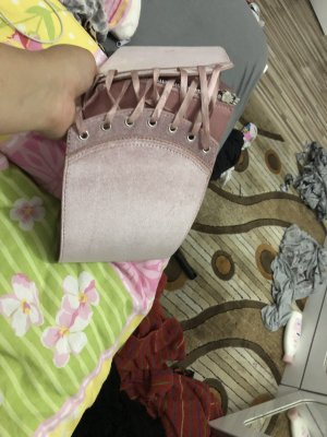 Atmosphere Cintura vita color oro rosa
