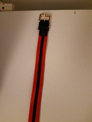 Boden Fabric Belt red-dark blue
