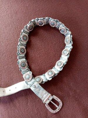 Nanni Chain Belt silver-colored