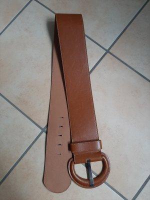 Cintura fianchi marrone chiaro Tessuto misto