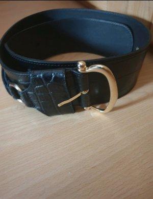 Zara Leather Belt black