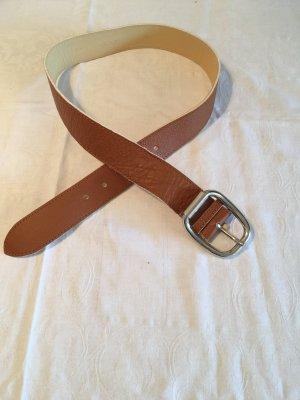 Claudio Orciani Cintura di pelle beige