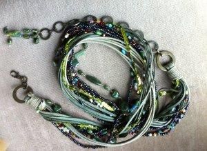 Cintura con catena multicolore