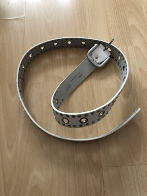 Faux Leather Belt white
