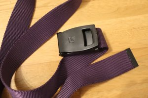 Burton Fabric Belt dark violet