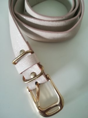 KappAhl Faux Leather Belt rose-gold-coloured-gold-colored
