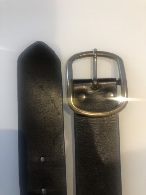 H&M Leather Belt multicolored