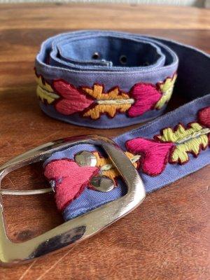 Sarah & Sally Fabric Belt multicolored