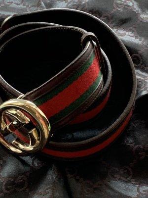 Gucci Lederen riem veelkleurig