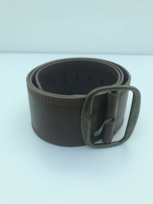 Cinturón de cadera color bronce-marrón
