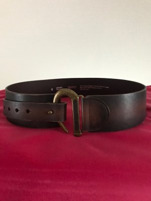 Esprit Hip Belt dark brown leather