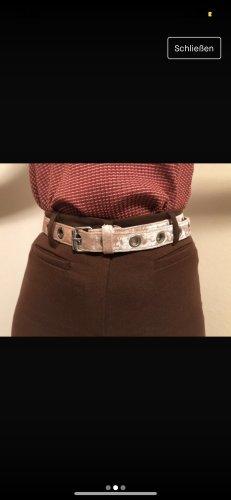 Bik Bok Cinturón de tela multicolor