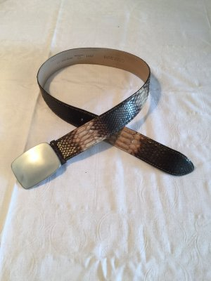 Claudio Orciani Leather Belt multicolored