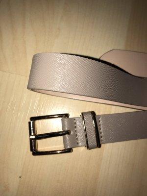 H&M Cintura di pelle beige