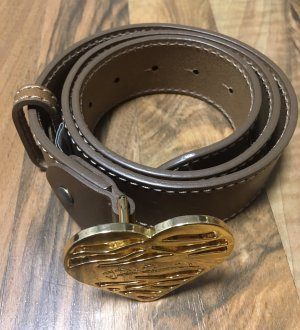 Just cavalli Leather Belt brown