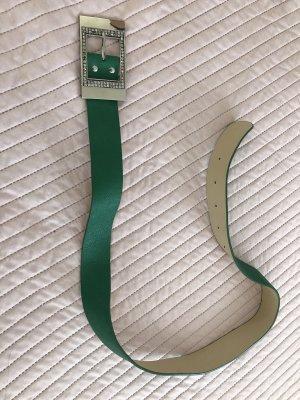 Boucle de ceinture vert gazon-vert forêt
