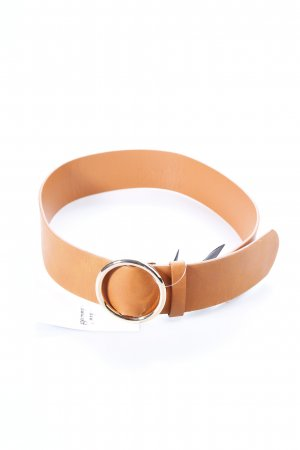Belt cognac-coloured country style