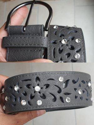 Fibbia per cinture grigio scuro
