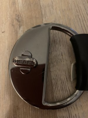 Diesel Leather Belt black