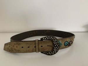Esprit Faux Leather Belt beige